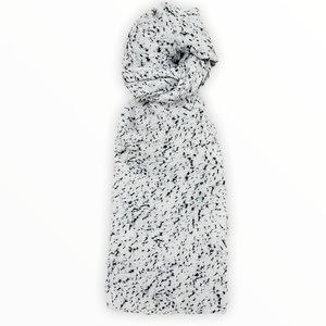 COS Scarf With Black Pattern
